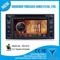 Android system 2 din Car DVD forTOYOTA HILUX 2001-2010 with GPS Ipod DVR digital TV BT Radio 3G/Wifi(TID-I010)