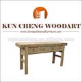 Mobiliario de sala de madera rústica mesa de mesa / consola de madera rústica mesa