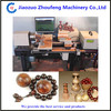 Popular CNC automatic Fossil ivory wood artware bead making machine
