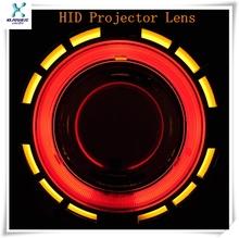 2014 new type green devil eye bi xenon projector lens