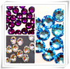 China Best Quality Crystals Wholesale Hot Fix Clear and Flat-Back Premium Rhinestones with Various Sizes and Colors