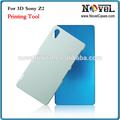 2014 novo modelo 3d telefone caso ferramenta de impressão para sony z2 l50w