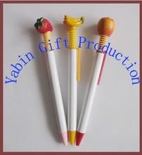 Shenzhen Fashion Design Plastic Fruit Pens