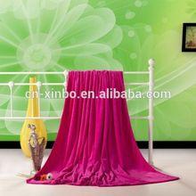 100% Coral Fleece Rose Red Throw Blanket Livingroom/Den/Bedroom