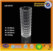 2015 wholesale glass vase/showpieces for home decoration