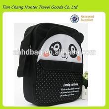 lovely cartoon pandan image 600D polyester school bag,kids school bag