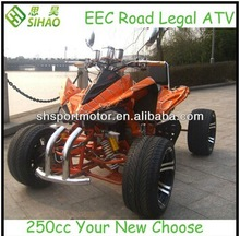 250ccm Racing ATV Road Legal Quad ATV ISO Approved