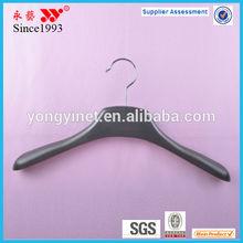 wholesale grey male clothes metal hook plastic hanger
