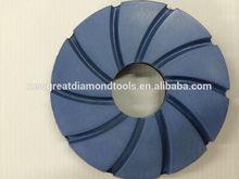 125mm Diamond straight edge abrasives snail lock