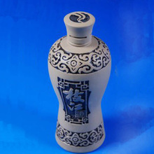 Chinese Classic Cermic Wine Bottle