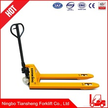 Best sale power useful and comfortable weight scale hand pallet truck
