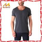 Fashionable good quality 100 cotton plain t shirt stock lot plain for custom printing