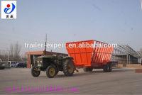 multi-axle hydraulicsemi truck wood chip trailers for sale