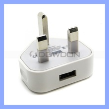 For Apple iPhone 5S USB Power Adapter Charger UK Plug
