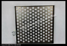 China manufacturer high quality perforated metal sheet with various hole styles