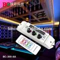 Dc12v-24v remoto de rf y 3 bricolaje perilla de color rgb led del módulo controlador