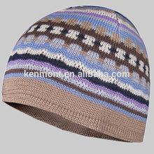 Blank Plain Ski Custom Knit cool cap men In Stocks