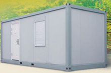 Prefabricated light steel structure container hosue for accommodation