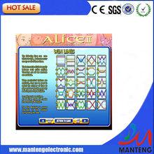 Slot Alice II NUEVO WMS Juego de mesa para Casino Slot Machine juego