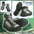 piel sintética y paneles nylonfly pesca botas de vadeo
