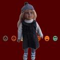 Hermosa top venta de juguete de la muñeca/en línea vestido de la muñeca- up girl juegos/desnudos muñeca de la muchacha