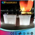 Venda quente! Night club use plástico brilhante mudança de cor RGB modern mobiliário barroco