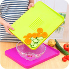 Antibiosis color coding chopping board made in PP