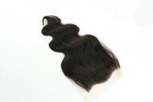 Brazilian virgin free parting cheap lace closure piece for girls