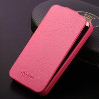 Easy clean custom printed flip mobile phone case for Iphone 4 4S