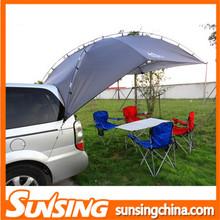Folding car rear awning spray tent camping for car