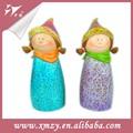 Feito à mão linda boneca cerâmica cabeças