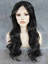 Two Tone Colors 1B/33 Can Dye Synthetic Lace Wig Drag Queens Wig