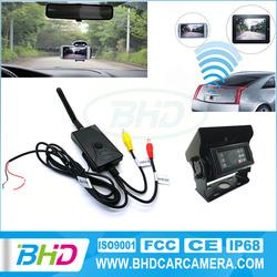 New waterproof rear view wireless camera for car