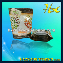 Stock food stand up pouches