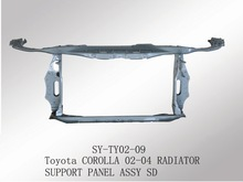 hot selling radiator support panel for toyota corolla auto parts