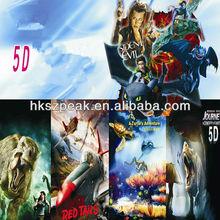 5d 7d 9d cinema theme amusement project