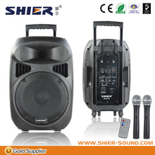 sound system for stage performance