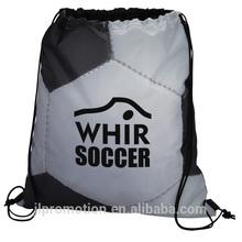 Sport Drawstring Sportpack Soccer Ball cinch bag