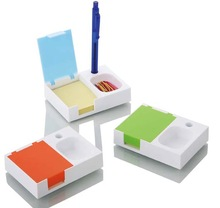 Plastic Mini Pocket Stand Pen With Notepad