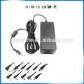 Dc fonte de alimentação led transformador carregador adaptador 12v6a 110- 220v para 12v para rgb led tira 5050 3528 da ue e eua reino unido ua cabo plug socket