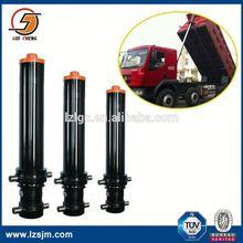 Manufacturer of hydraulic dump hoist mechanism dump truck hydraulic cylinder lift-front loader