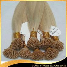 Customer Good Feedback Remy Human Hair 1g/strand Brazilian Keratin Hair I-tip