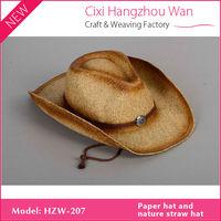 paper vase hat