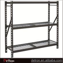 Durable metal storage rack angle iron rack
