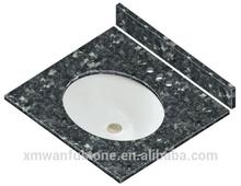 hot sale from China Blue Pearl grante bathroom vanity tops, granite vanity top
