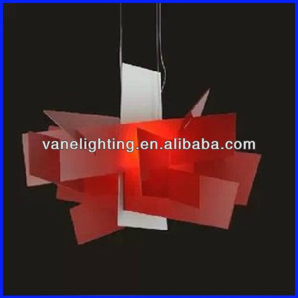 LED Color Changing Pendant Light