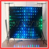 WLK-1P18 Black fireproof Velvet cloth RGB 3 in 1 leds backdrop curtain play full sexy movies
