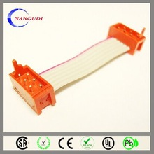 colorful 2.54 pitch 50 pin flat cable china