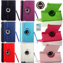 C1295 For New iPad 4 4G Gen 3 3rd 2 360 Rotating Magnetic PU Leather Case Smart Cover