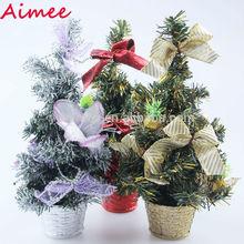 2014 wholesale mini fiber optic christmas tree ornament,christmas tree stand(AM-CD25,)